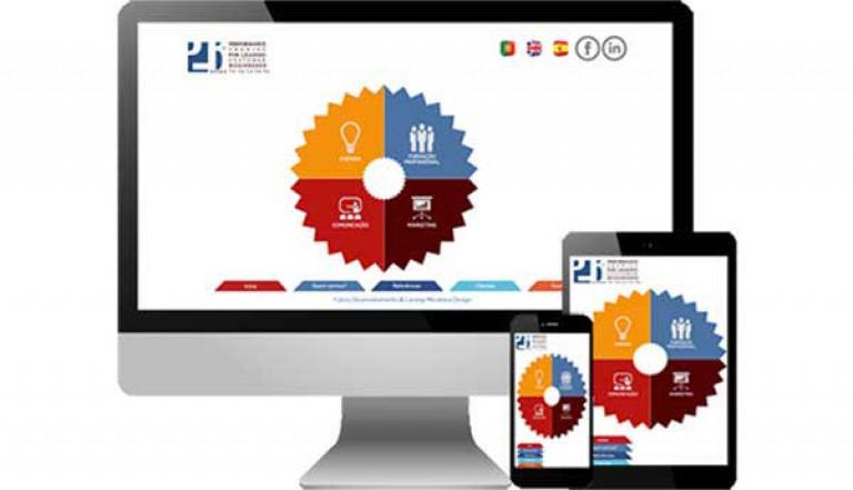 portfolio 2/3  - Desenvolvimento do site http://plbconsultants.pt/