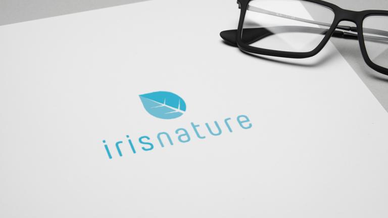 portfolio 2/11  - Logotipo Iris Nature