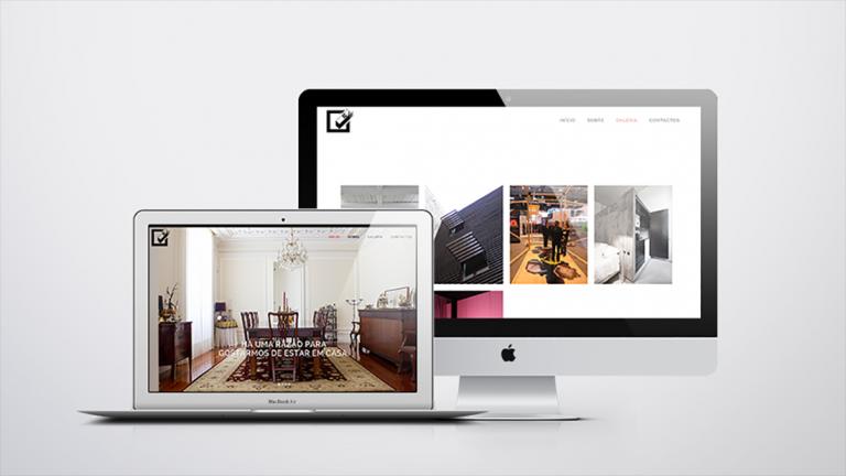 portfolio 10/11  - Website MJDS carpintaria