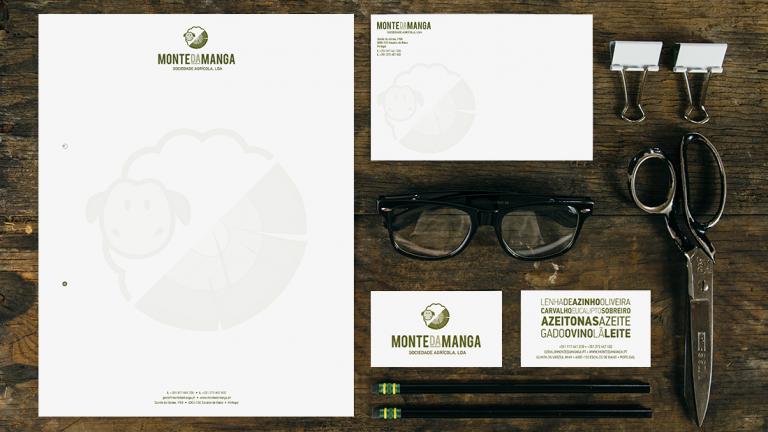 portfolio 9/11  - Branding Monte da Manga