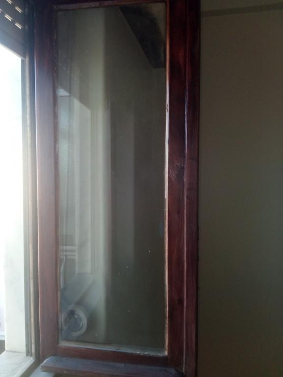 portfolio 10/14  - janela de madeira recuperada