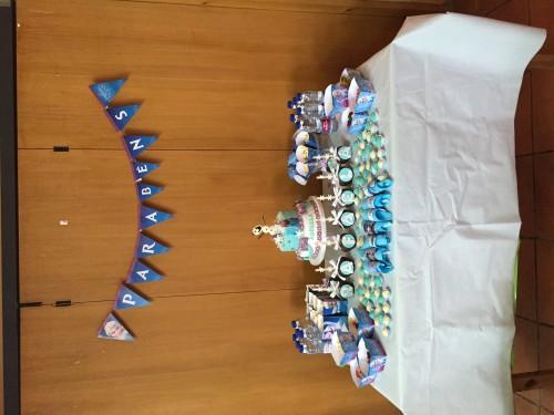 portfolio 5/10  - Decoração de Festas - Frozen