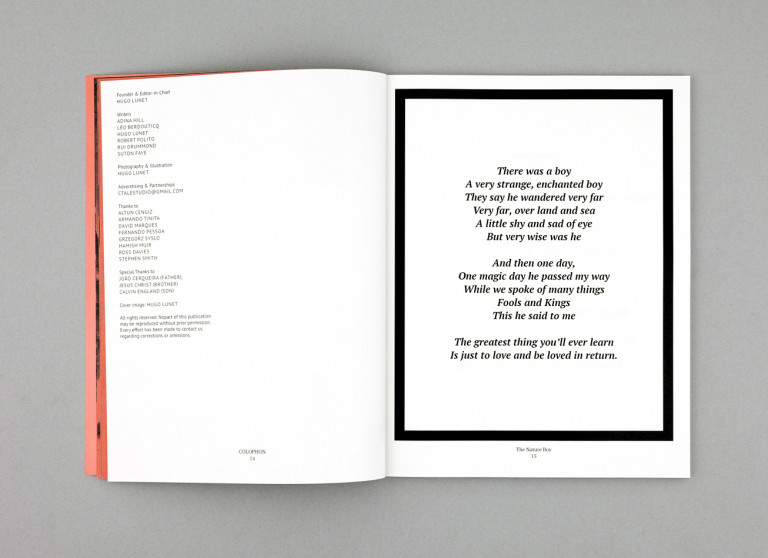 portfolio 11/15  - Editorial Design