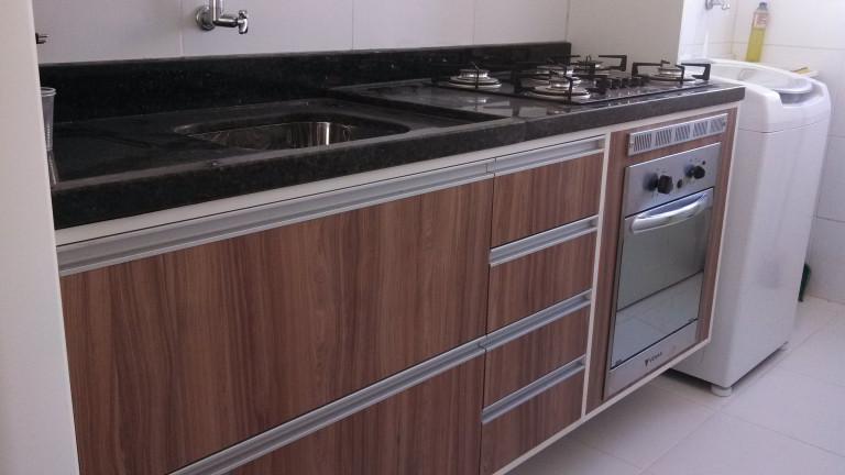 portfolio 3/4  - Fabricação de balcão de cozinha