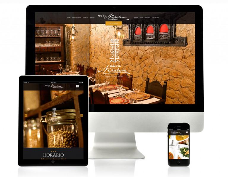 portfolio 17/17  - Website Casa Nepalesa