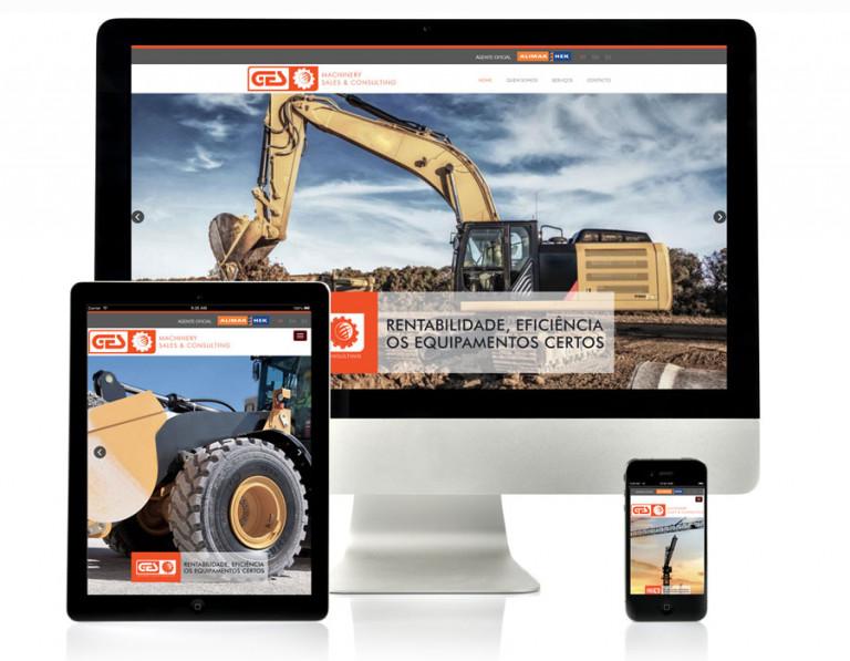 portfolio 11/17  - Website GES Machinery
