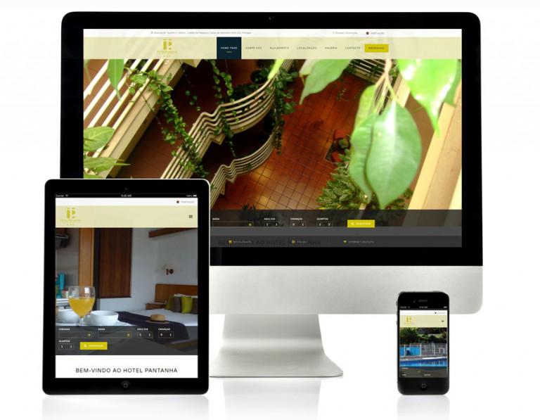 portfolio 7/17  - Website Hotel Pantanha