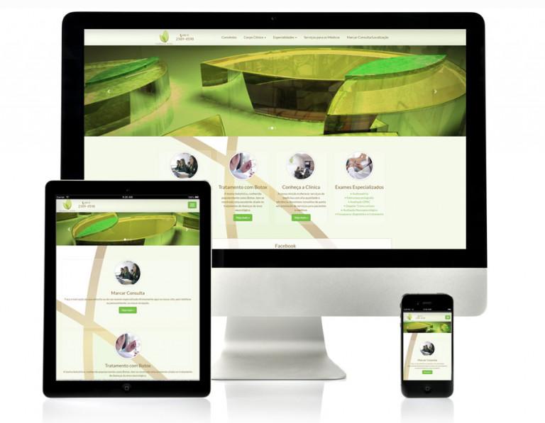 portfolio 3/17  - Website Clínica Vita