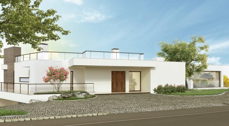 portfolio 4/21  - Residencia Unifamiliar no emVale da Lama - Algarve