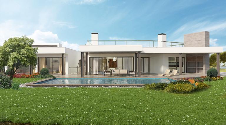 portfolio 1/21  - Residencia Unifamiliar no emVale da Lama - Algarve