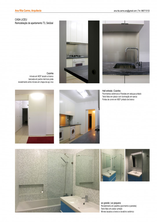 portfolio 2/2  - Casa Liceu