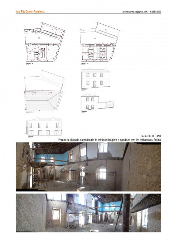 portfolio 1/2  - Casa Tiago e Ana