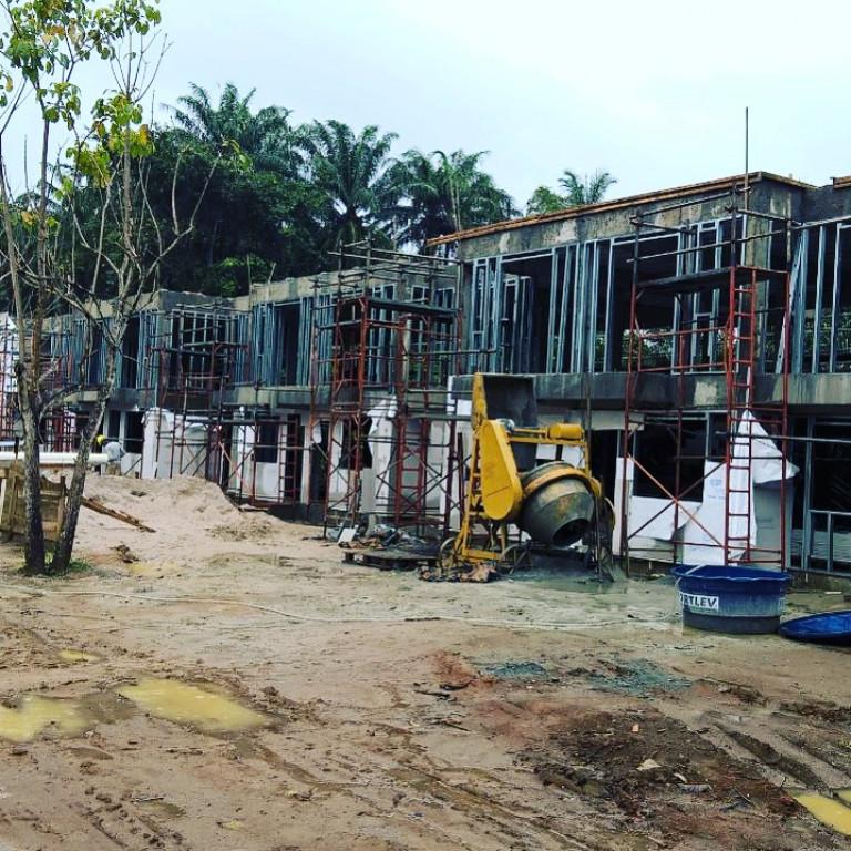 portfolio 19/20  - 16 apartamentos com fachada Light Steel Frame (LSF)