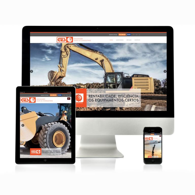 portfolio 7/17  - Website GES Machinery