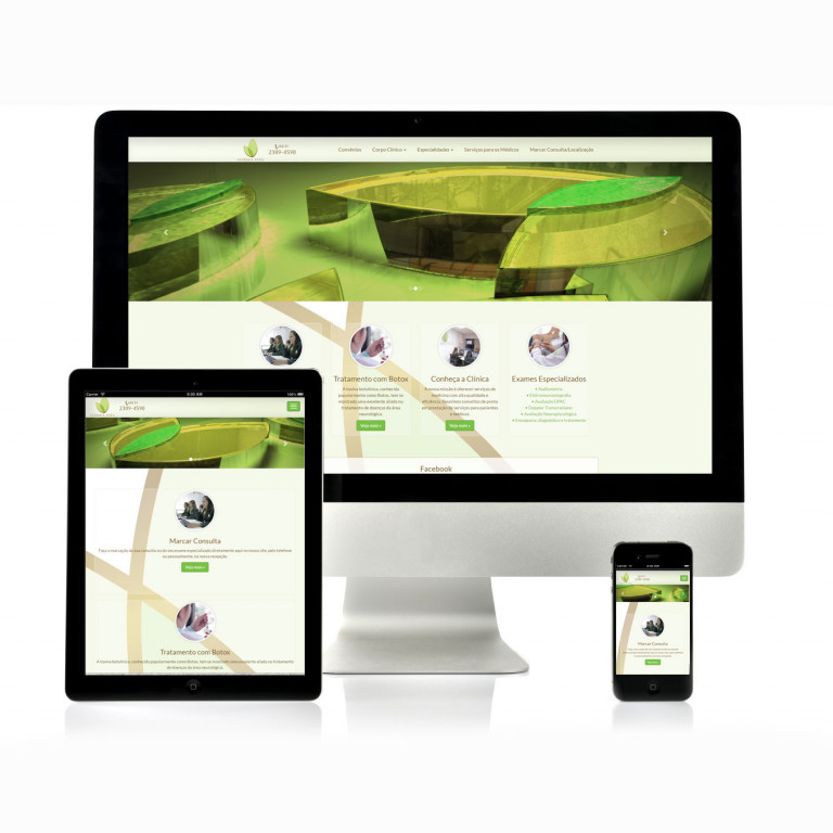 portfolio 15/17  - Website Clínica Vita