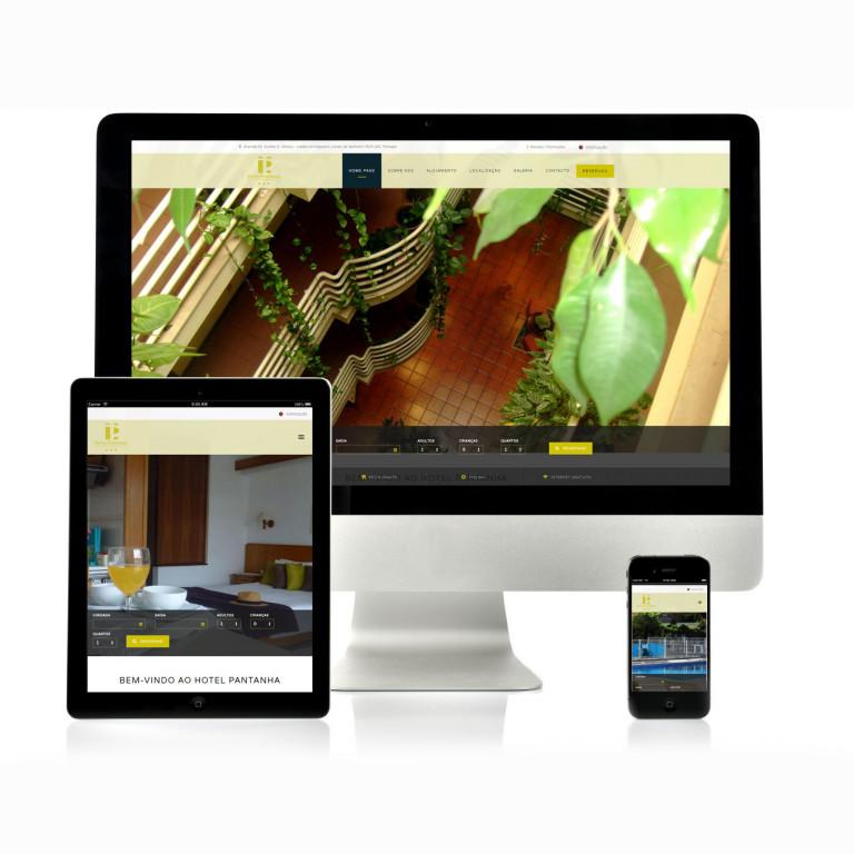 portfolio 11/17  - Website Hotel Pantanha