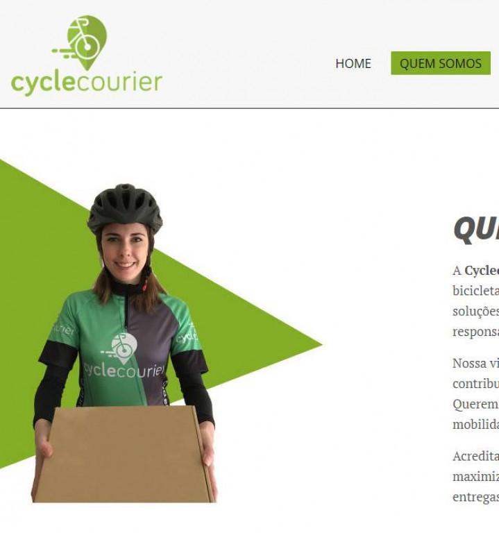 portfolio 4/7  - http://www.cyclecourier.pt/