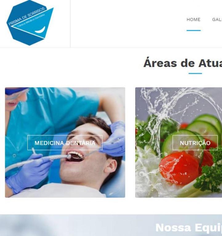 portfolio 2/7  - http://www.prismadesorrisos.pt/