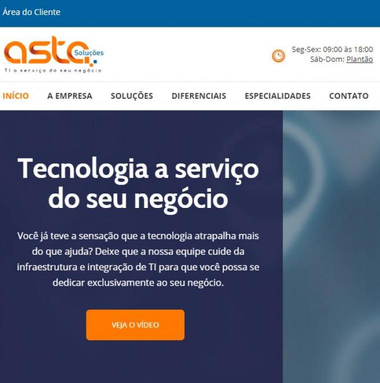 portfolio 6/7  - http://astasolucoes.com.br/