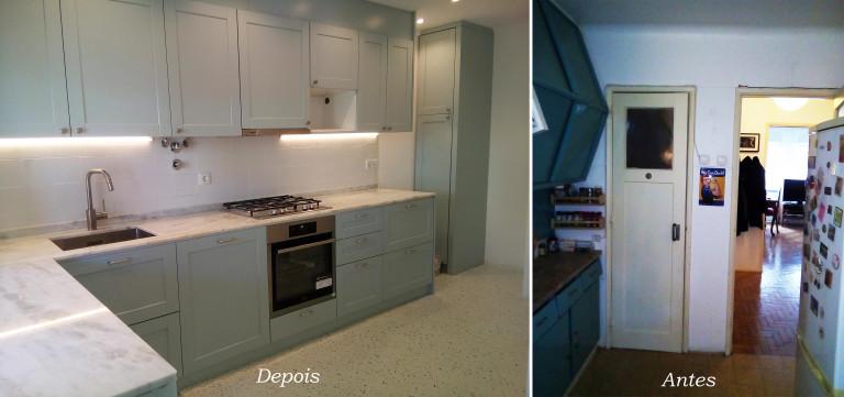 portfolio 1/24  - Remodelação cozinha