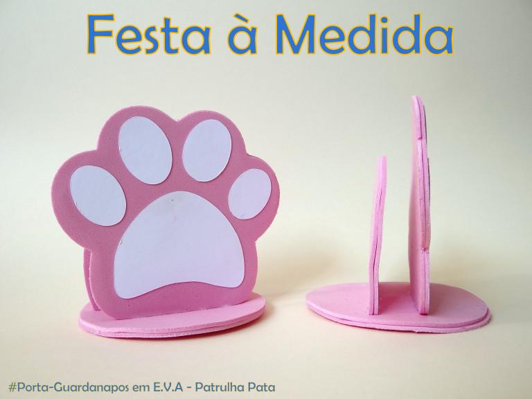 portfolio 18/21  - Porta-guardanapos - Paw Patrol