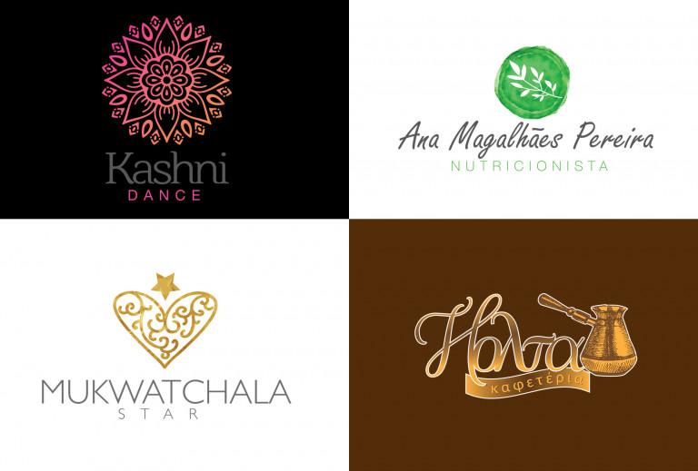 portfolio 4/12  - Design de Logotipo