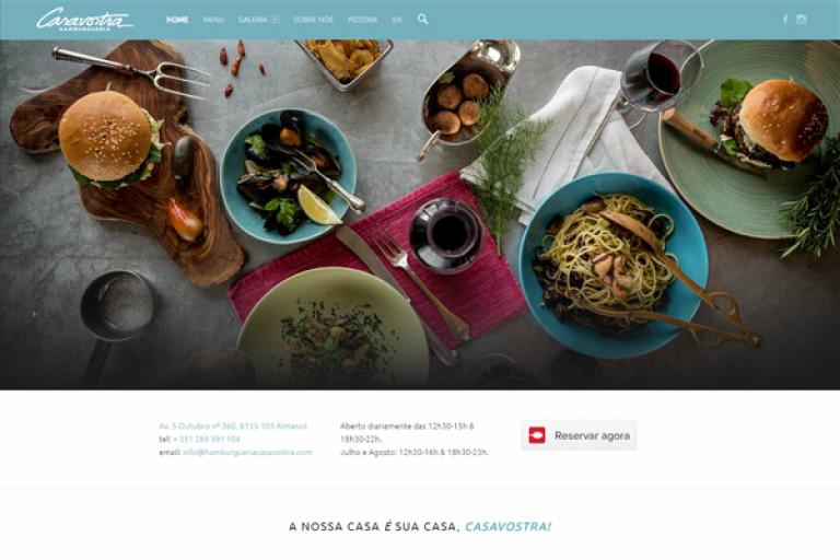 portfolio 8/11  - Website com CMS