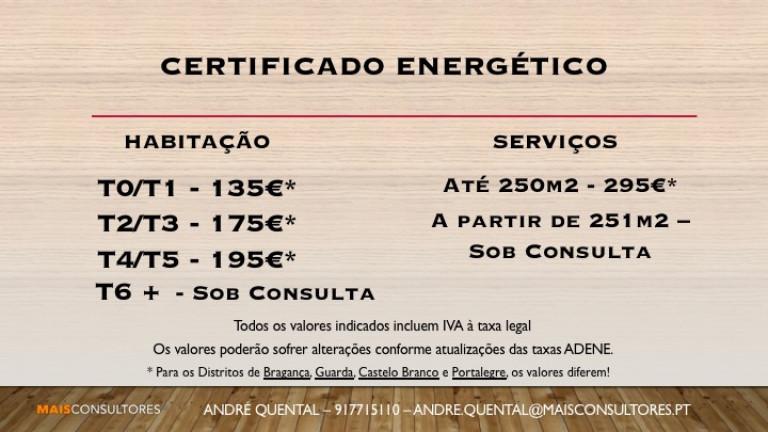 portfolio 1/6  - Certificados Energéticos a partir de 135