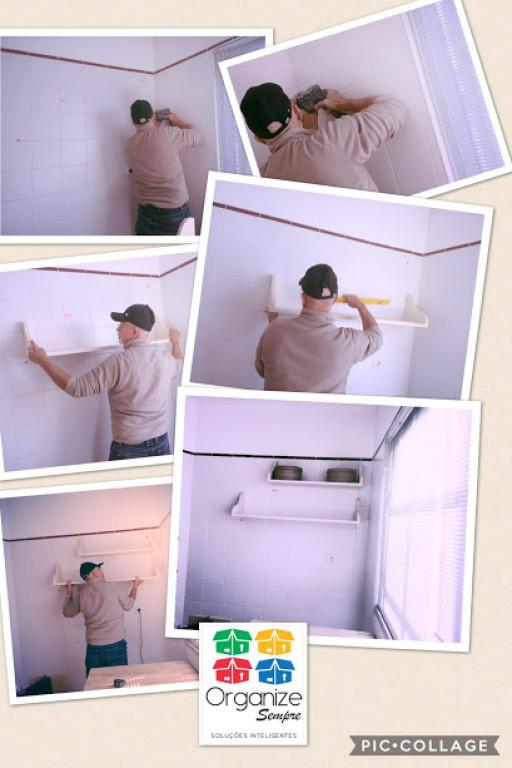 portfolio 14/21  - Instalação de prateleiras