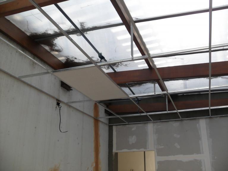 portfolio 13/22  - preparação de teto falso em fibra