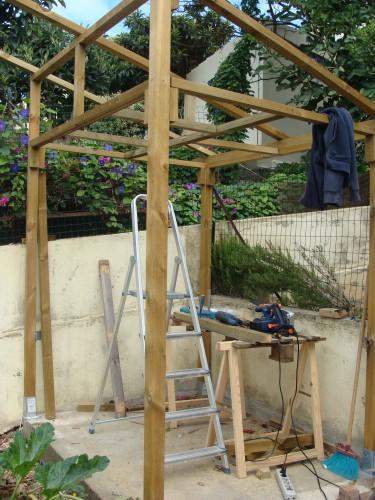 portfolio 20/31  - construção de uma casa de madeira por medida