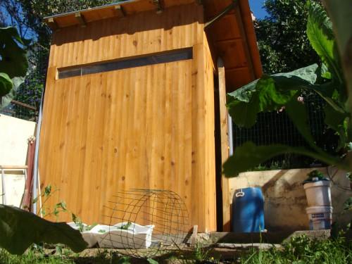 portfolio 21/31  - vista frontal - casa de madeira
