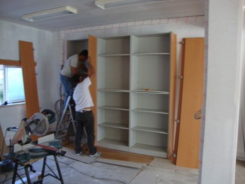 portfolio 1/10  - Remodelação de interior de loja