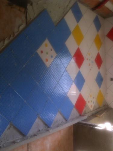 portfolio 3/3  - Aplicação de Azulejos em WC