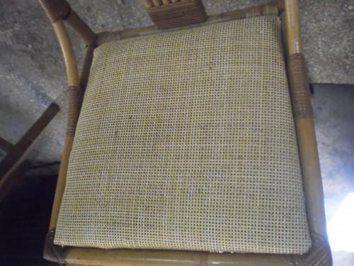 portfolio 70/80  - cadeira feita com palha pre pronta...