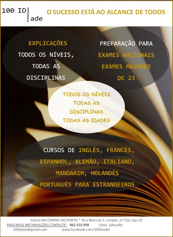 portfolio 3/3  - Apoio ao Estudo e Explicações
