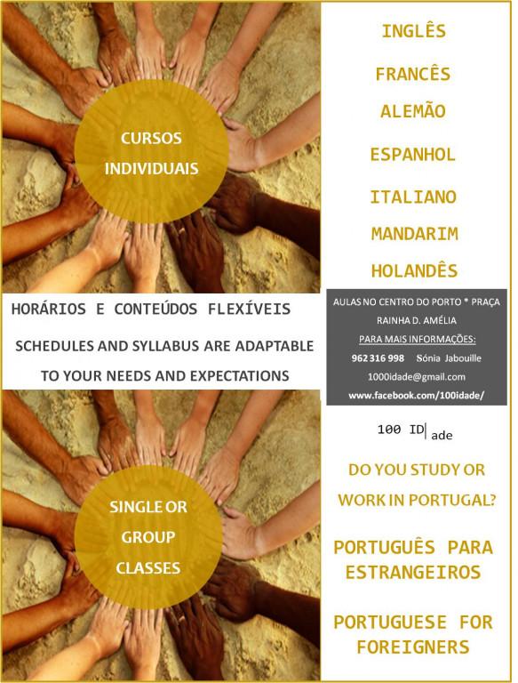portfolio 2/3  - Línguas estrangeiras diversas