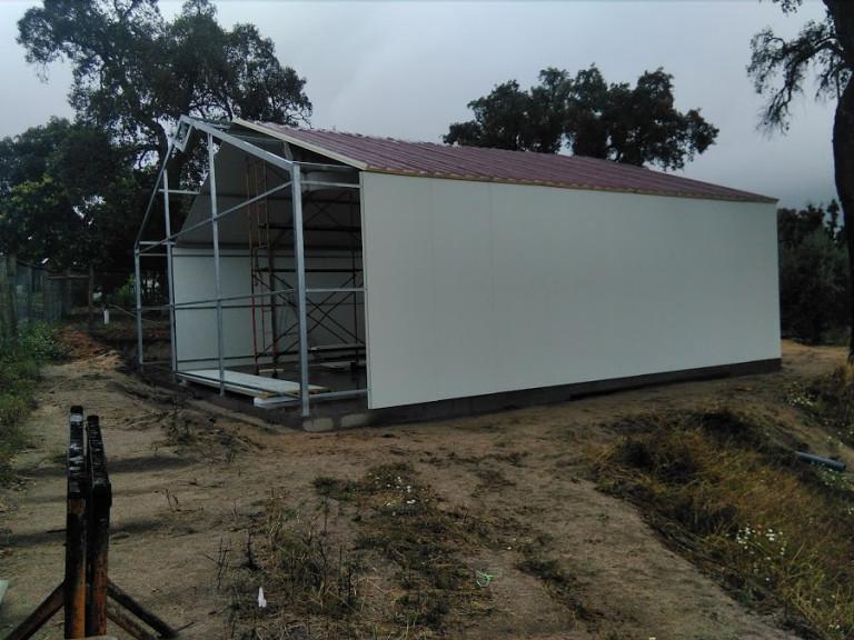 portfolio 26/46  - pavilhao 100 m2 chapa térmica construçao