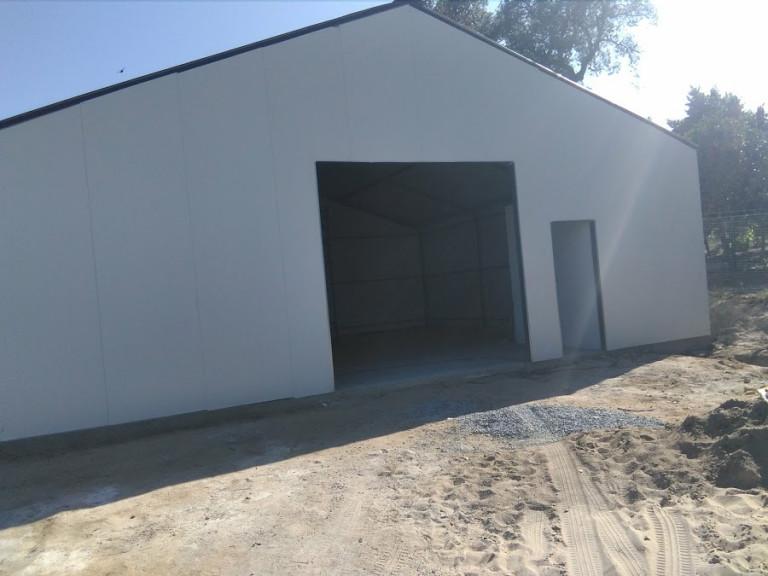 portfolio 24/46  - pavilhao 100 m2 chapa térmica