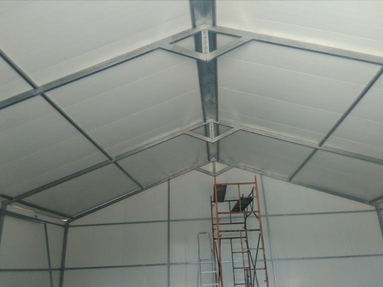 portfolio 23/46  - pavilhao 100 m2 chapa térmica
