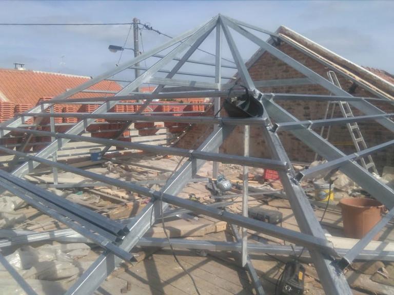 portfolio 19/46  - estrutura leve telhado galvanizado