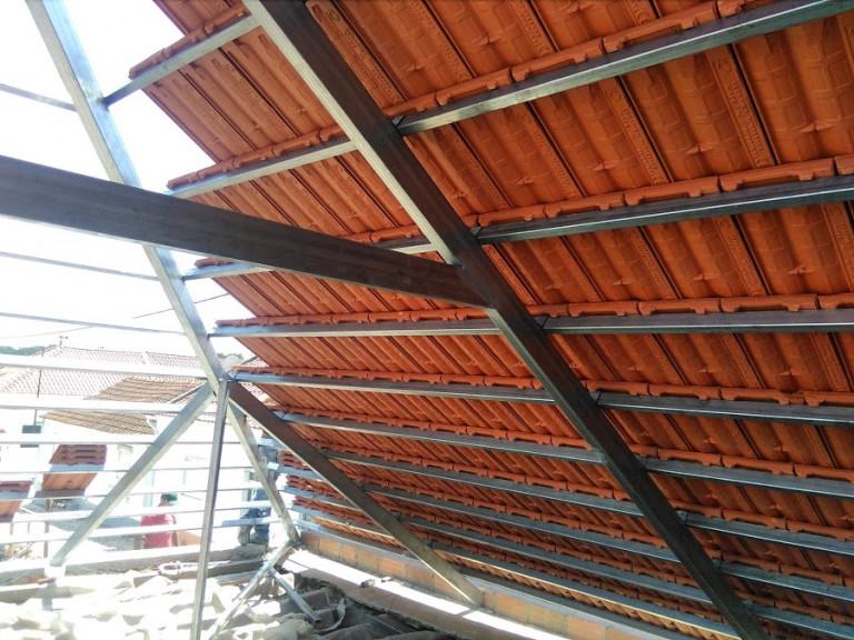 portfolio 13/46  - estrutura leve telhado galvanizado