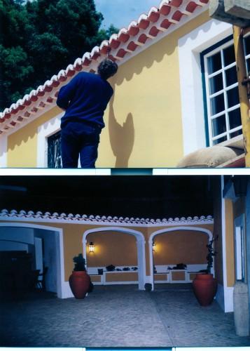 portfolio 47/51  - Remodelação de  moradia,  pinturas  exteriores