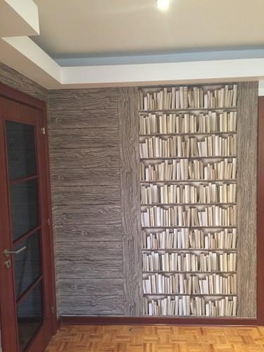 portfolio 55/77  - Papel de parede colocado na horizontal e também na vertical