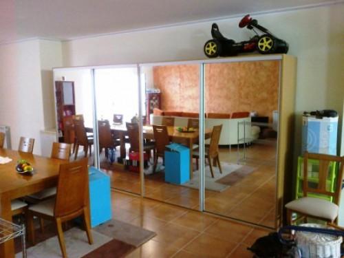 portfolio 78/90  - Roupeiro em Carvalho com portas de correr c/ Espelho-2
