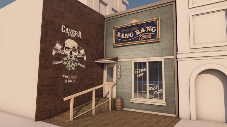 portfolio 3/12  - Bang Bang Jack - 3D