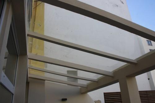 portfolio 51/53  - construçao de telhado novo com a cobertura em chapas acrilicas