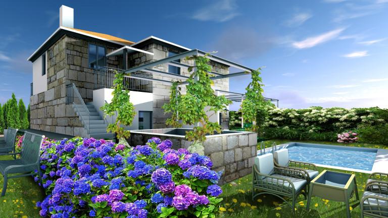 portfolio 1/8  - Reconstrução de Habitação Unifamiliar
