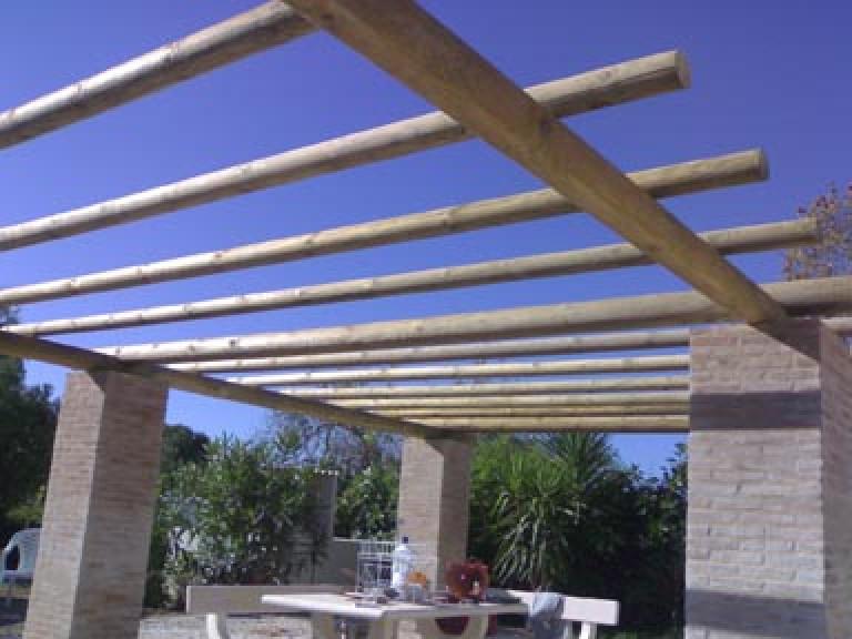 portfolio 41/65  - Construção de pergulas em madeira