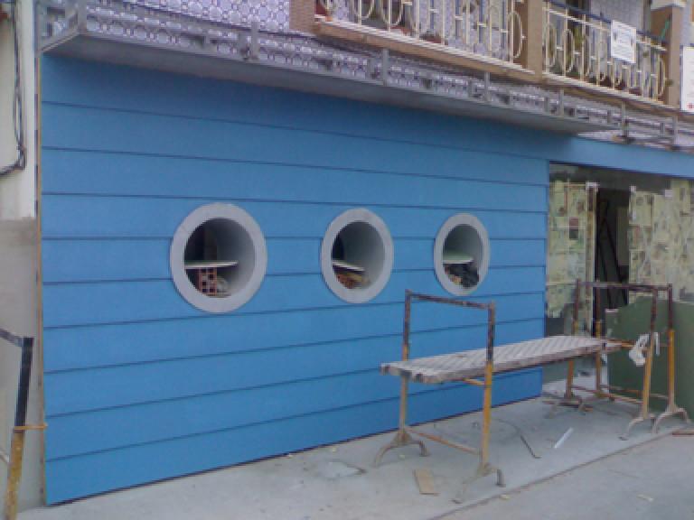 portfolio 33/65  - Construção de loja de peixe